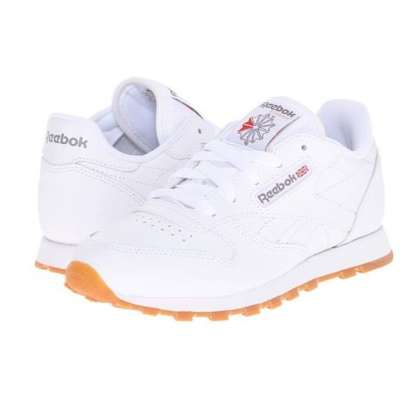 db378861788 Reebok classic leather white   gum sneakers. M 5a61e6c945b30c6e3836cf5a